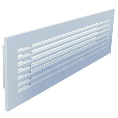 Aluminium Lineargitter für Wandeinbau
