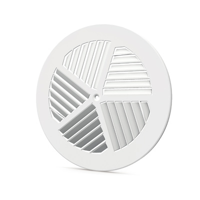 Staircase swirl diffusers